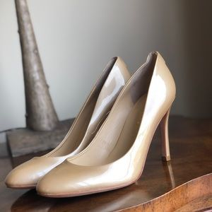 Ivanka Trump gold sparkle heels